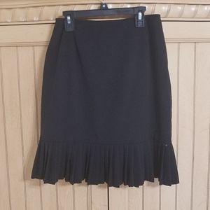 Vintage Pantology Black Skirt, sz 6